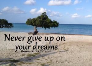 Achieve The Goals You Desire – Believe In You 003- Bonnie-Aruba-sand-water